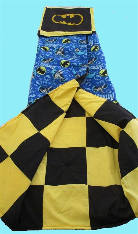 pattern for making a quillow boy s super hero quilt quillow blanket and superhero cape
