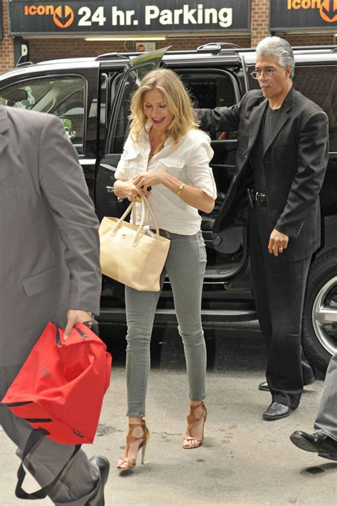 Cameron Diaz Steps Out With Purse by More Pics Of Cameron Diaz Leather Tote 1 Of 4 Leather