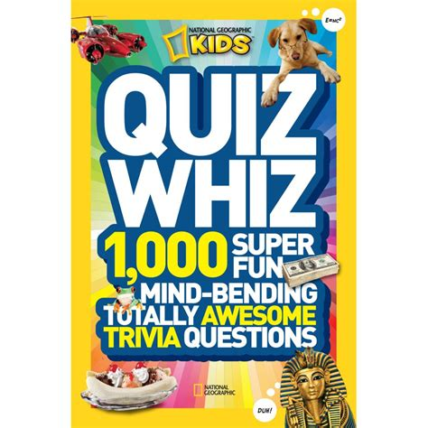 Quiz Time Book national geographic quiz whiz national geographic store