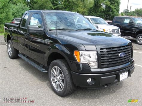 2014 Ford F150 Stx by 2014 Ford F150 Stx Supercab 4x4 In Tuxedo Black B80221