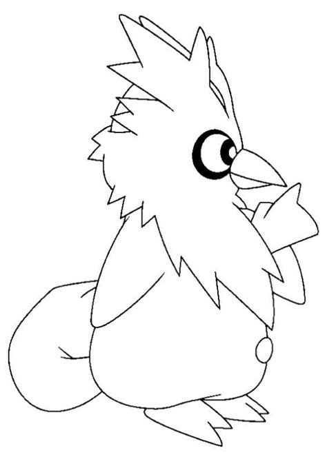 Disegni da Colorare di Pokemon