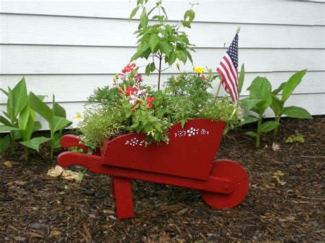 Wheelbarrow Planter Box by 17 Best Images About Our Cottage Home On
