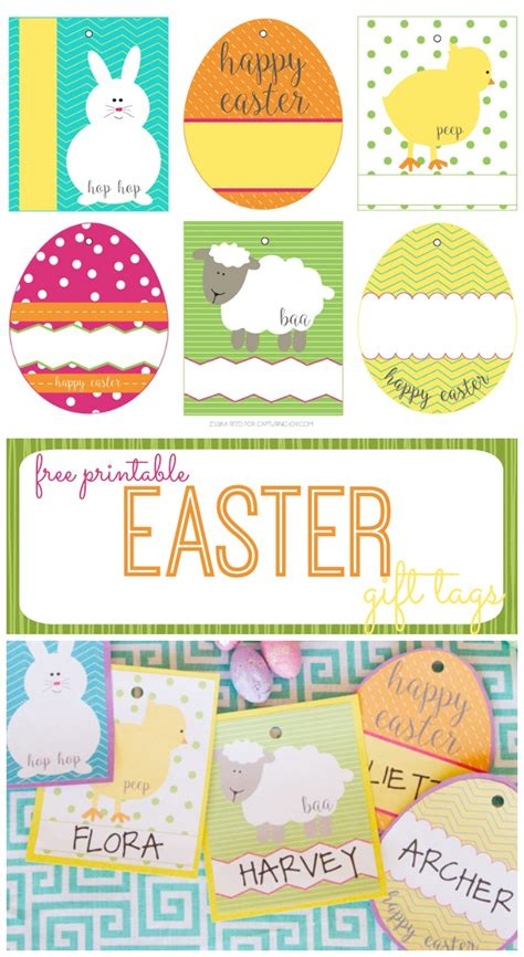 printable easter themed name tags free easter basket gift tags capturing joy with kristen duke