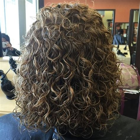 mid lengtg perm before and after shoulder length hair perm before and after pics before