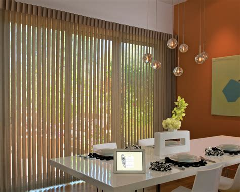 Motorized Vertical Blinds Douglas Vertical Blinds Motorized Window