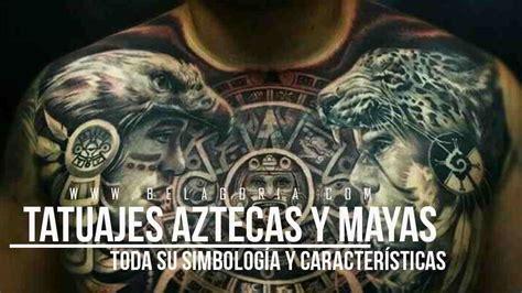 los mejores tatuajes aztecas y mayas con significado