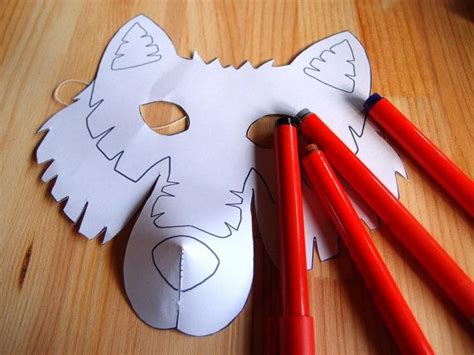 wolf paper plate craft 1000 ideas about wolf craft on paper plate