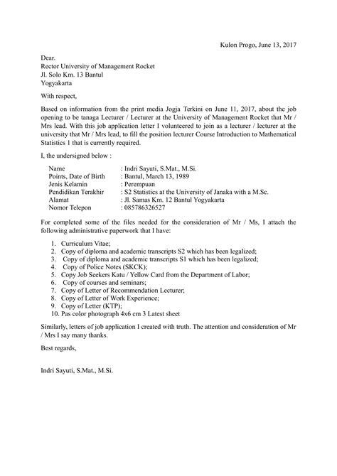 format surat lamaran kerja doc download contoh surat lamaran kerja bahasa inggris dan