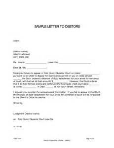 best photos of letter to debtor template letter with cc