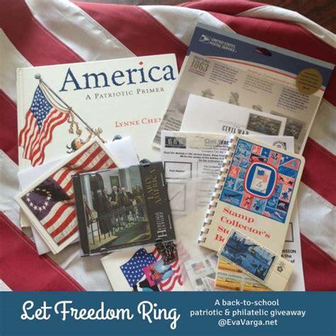 Patriotic Giveaways - let freedom ring a patriotic philatelic giveaway eva varga