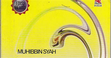 Psikologi Belajar By Muhibbin Syah 1 resensi buku psikologi pendidikan
