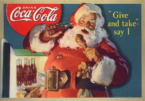 imagenes de santa claus original coca cola santa claus 1931 1949