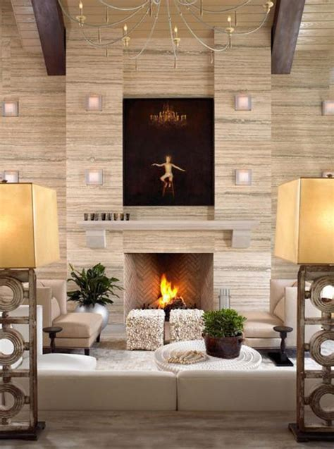 modern fireplaces  mantel decorating ideas  change