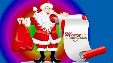 santa claus list  christmas gifts desktop wallpaper hd  mobile  tablet