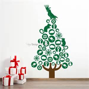 australian christmas tree christmas designs wall decals