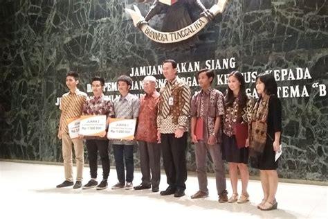 film pendek warkop dki satu harapan gubernur dki beri penghargaan finalis film