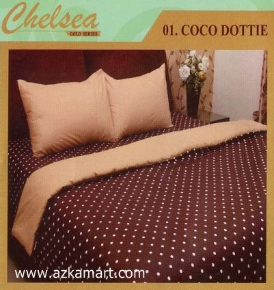 Sprei Dottie sprei bed cover dottie edition grosir sprei