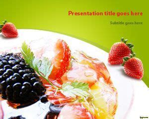 0 point fruit salad salad fruit powerpoint template ppt template ppt