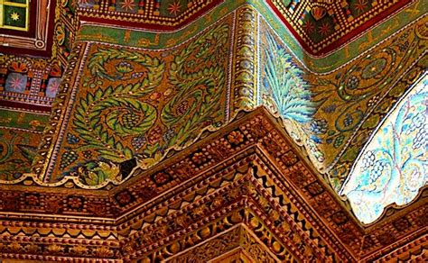 Decoration Rock by Interior Of The Dome Of The Rock Islamic Landmarks