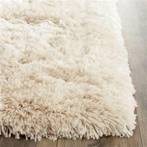 tufted polyester rug safavieh arctic shag 6 x 9 tufted polyester rug in beige sg270v 6