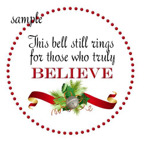 printable believe tags best photos of polar express bell template bell polar