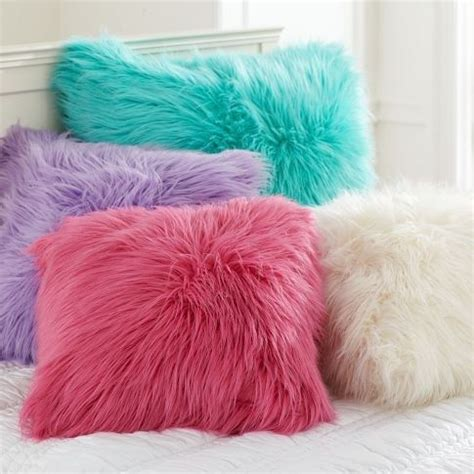 Fuzzy Pink Pillow by Fuzzy Pillows