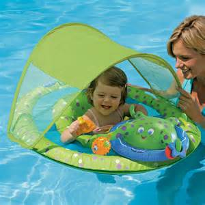 swimways canopy baby spring float activity center