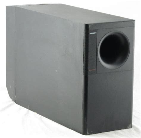 bose acoustimass  home theater subwoofer parts repair ebay