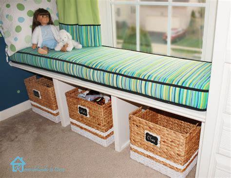 diy window bench seat remodelando la casa diy window bench