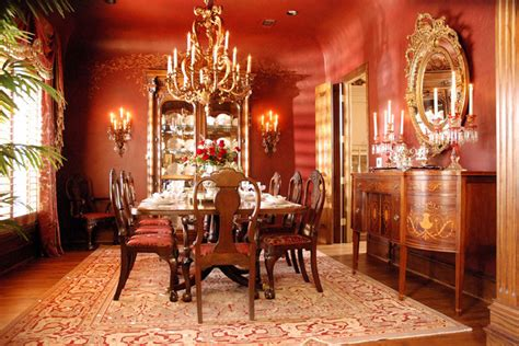 formal dining rooms red formal dining room
