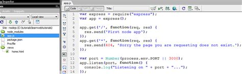 express js app layout using swig templates with expressjs learn web tutorials