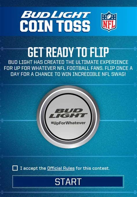 Single Entry Sweepstakes - the budlightcointoss com sweepstakes sweepstakes pit
