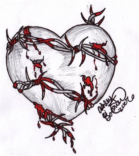 broken art tattoo barbed wire by boomboom34 on deviantart sketch
