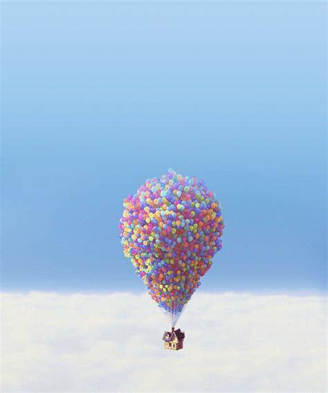 film up up to the sky disney movie disner pixar gif wifflegif