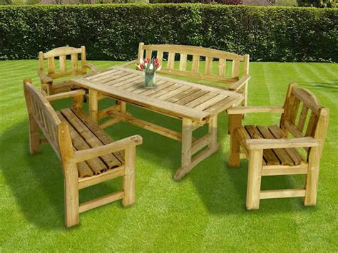 Heavy Duty Patio Furniture Sets Wooden Outdoor Furniture Garden Bench Seats