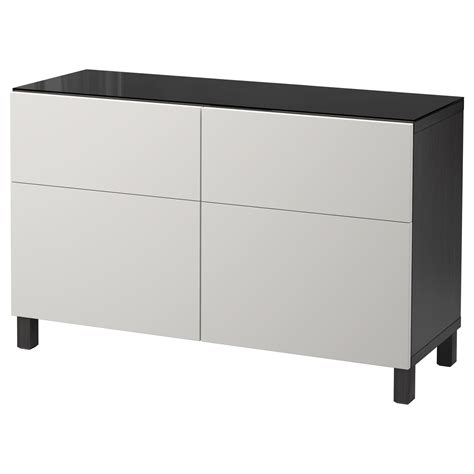 ikea besta storage combination with doors and drawers best 197 storage combination w doors drawers black brown