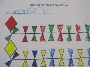 patterns in nature kindergarten lesson making ab patterns in preschool teach preschool