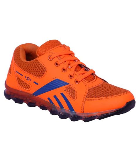 orange running shoes cyro orange running shoes price in india buy cyro orange