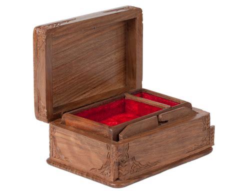jewelry box out of wood walnut wood jewelry box asran decor