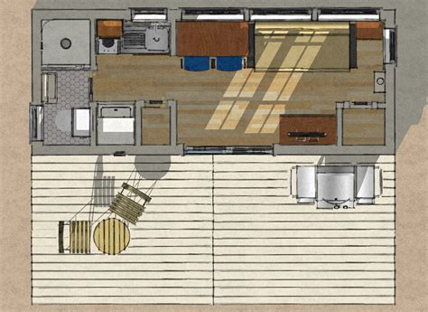 250 Square Foot Apartment Floor Plan by Small Scale Homes New 8 X 20 Shipping Container Home Design