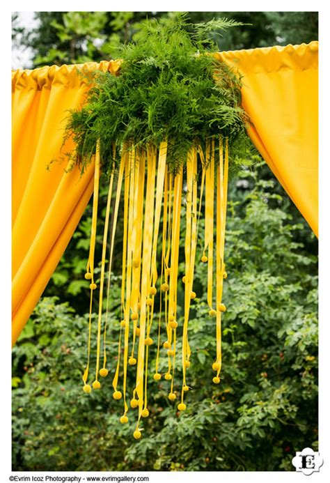 Yellow Wedding Arch by Fabulous Florist Sophisticated Floral Designs Portland