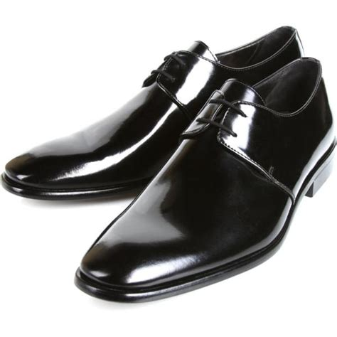 michael toschi gala formal patent leather shoes