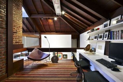 cool home office 30 cozy attic home office design ideas