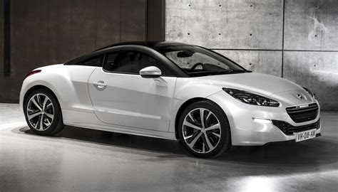 list of peugeot peugeot rcz history of model photo gallery and list of