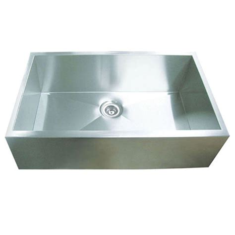 y decor hardy undermount apron front stainless steel 32 in single bowl kitchen sink hags3320sap