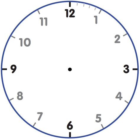 printable clock template printable clock template business