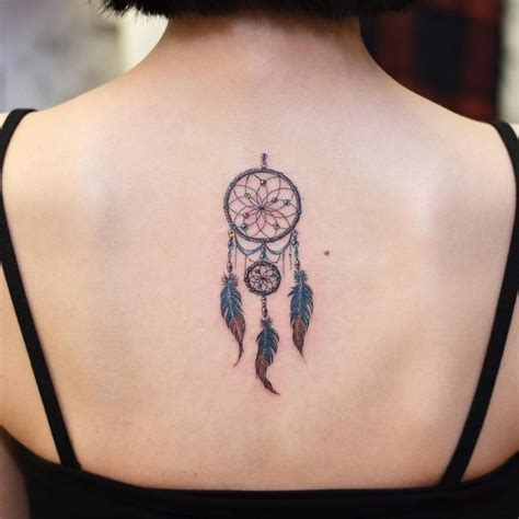 dreamcatcher tattoo small 80 best dreamcatcher designs meanings dive