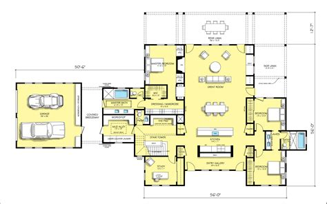 contemporary open floor house plans open modern floor plans modern house