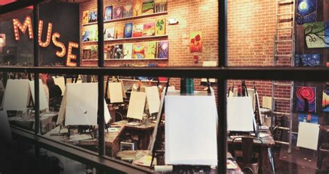 muse paintbar island finding your muse in a paintbar island business