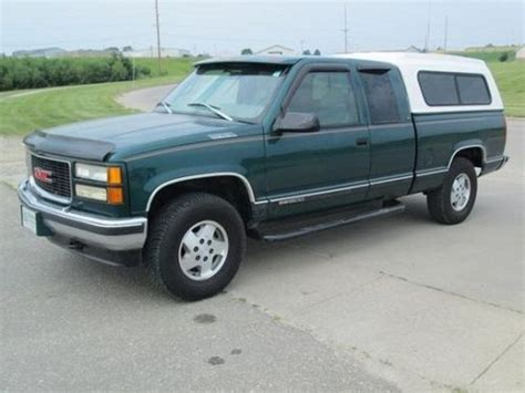 electric and cars manual 1995 gmc 1500 seat position control find used 1995 gmc sierra slt k1500 4x4 pickup in ames iowa united states